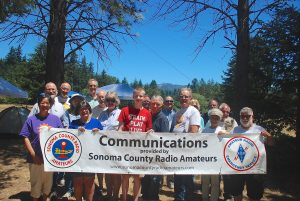 Mini DX Banner - Sonoma County Radio Amateurs - SCRA Sonoma County